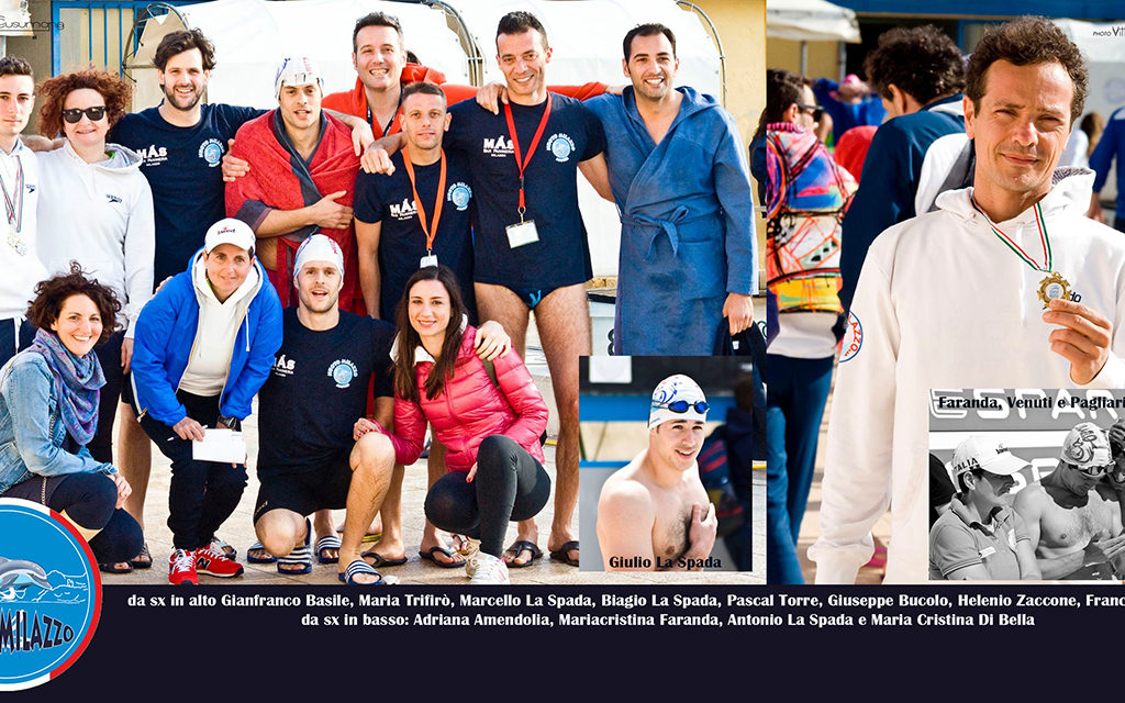 Ulysse Master Speed, tutte le medaglie dei nuotatori milazzesi