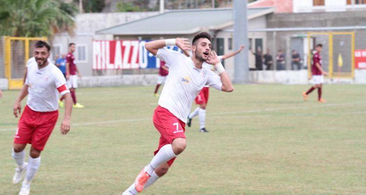 Il Milazzo liquida il Rosolini con due gol di Cannavò