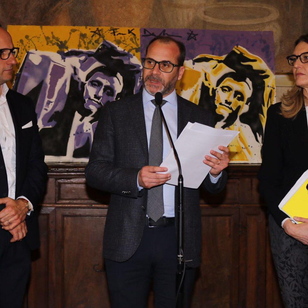 Tante autorità alla mostra di Frank De Nota alla Camera dei Deputati