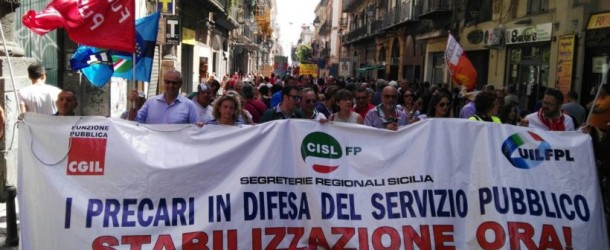 Camporeale (Pa): Non c'è il bilancio, 57 precari a casa!