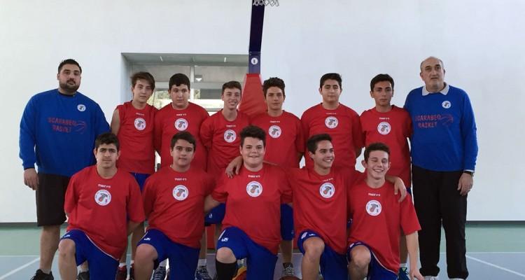 Milazzo, Scarabeo Basket campione provinciale Under 16