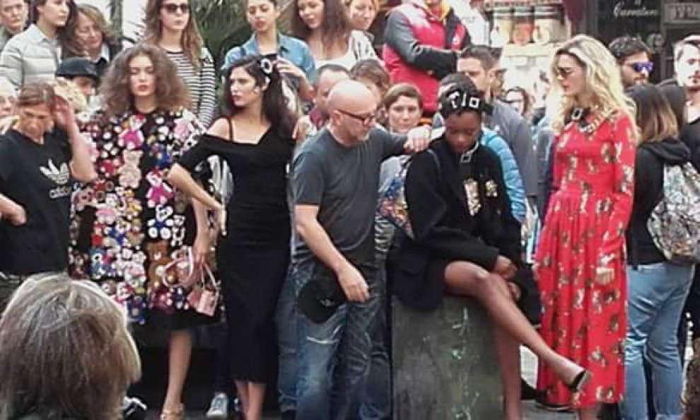 Dolce&Gabbana a Palermo per i loro spot pubblicitari !