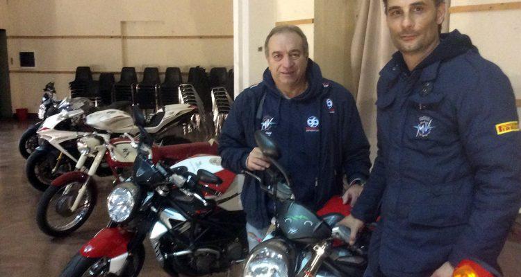 Milazzo/ Il pilota Giuseppe Mondello alla Targa Florio