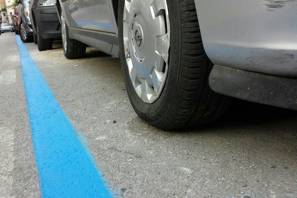 Cassazione: Illegittimo implementare il numero delle strisce blu