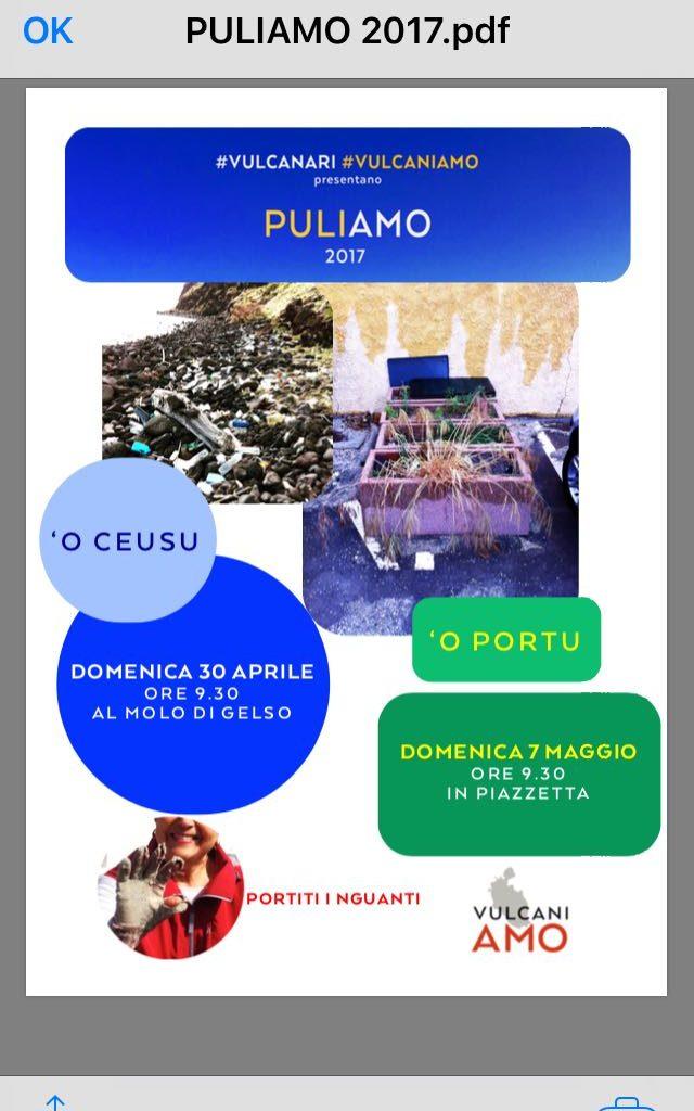 """L'associazione """"Vulcaniamo"""" organizza la pulizia della spiaggia di Gelso"""