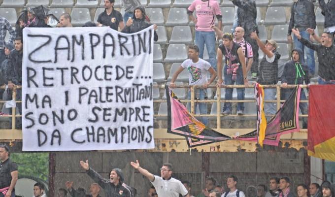 Palermo in B: Con la squadra retrocede un'intera città !