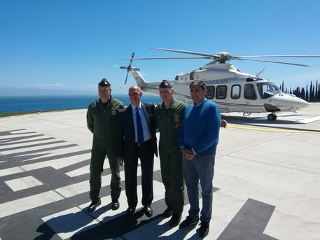 G7: inaugurata prima elipista Taormina
