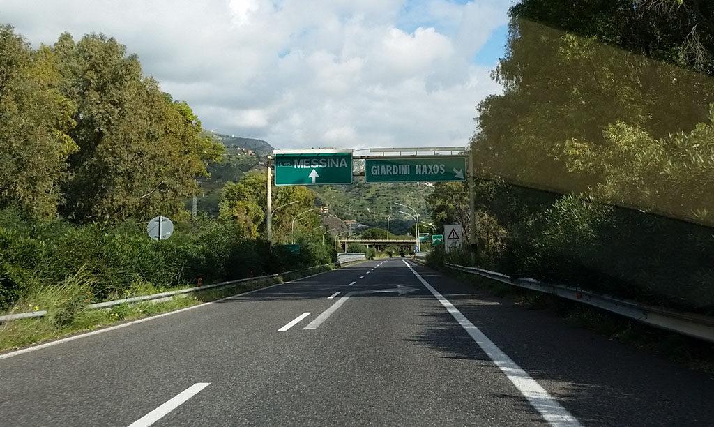 Lavori per il G7: Da stasera fino a domani mattina chiuso il tratto della A18 Giardini Naxos – Taormina