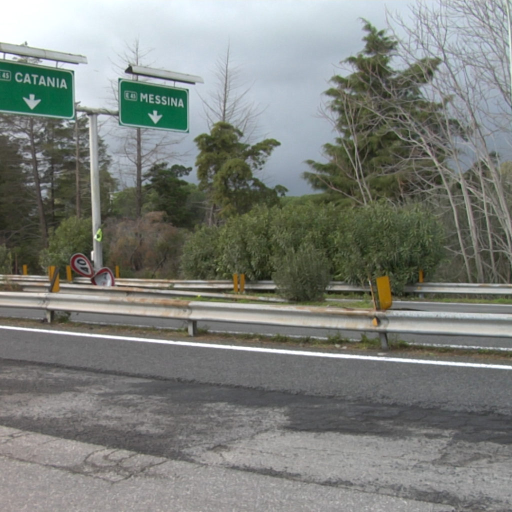 Per l'occasione del G7 iniziati oggi i lavori di sistemazione dell'Autostrada Catania – Messina