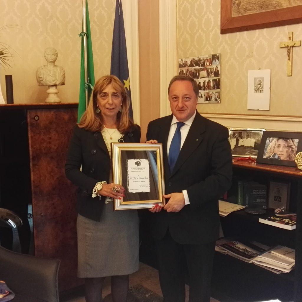 Il delegato per la sicurezza di Confcommercio Catania incontra il Prefetto di Catania