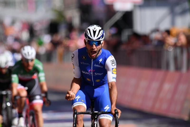 Giro D'Italia: Fernando Gaviria vince a Messina