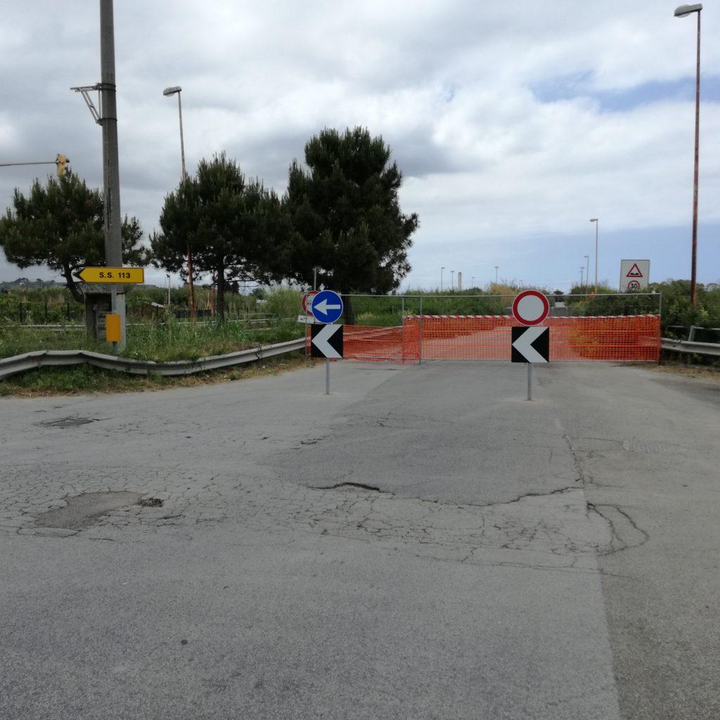 Chiuso tratto dell'arteria della Zona Industriale di Milazzo. Intervista al commissario Brandara