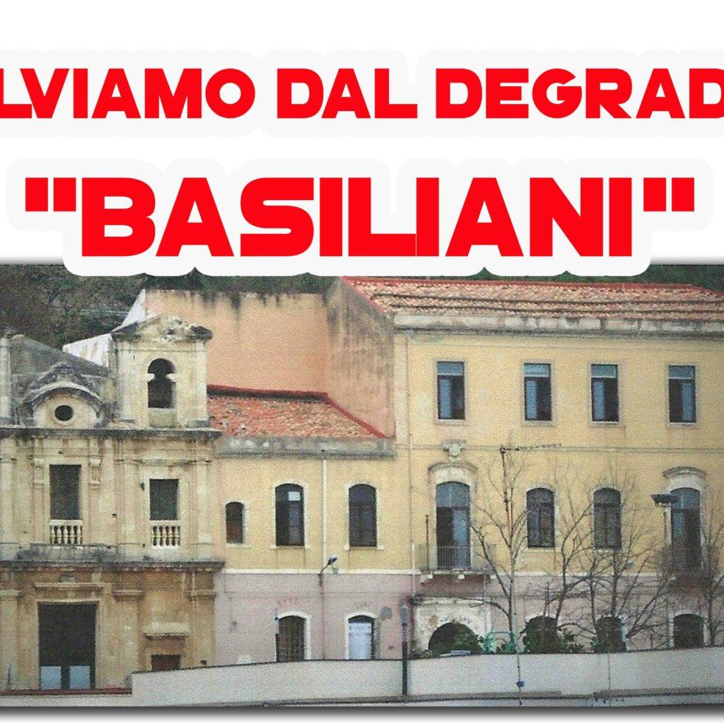 Barcellona, chiesa e convento dei Basiliani nel degrado