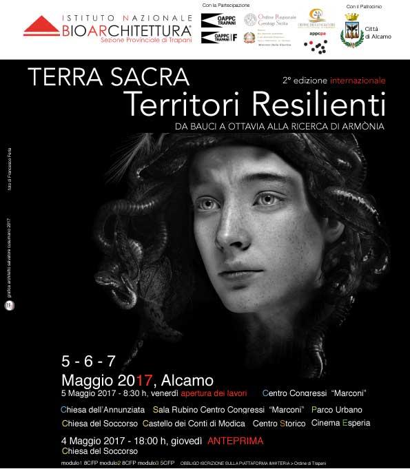"""""""TERRA SACRA. Territori resilienti"""" ad Alcamo dal 5 al 7 maggio."""