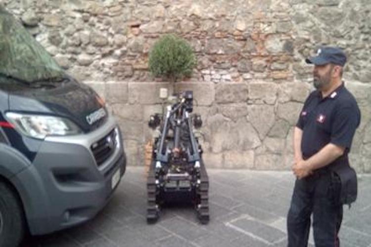 G7, A Taormina è arrivato anche il robot anti bombe