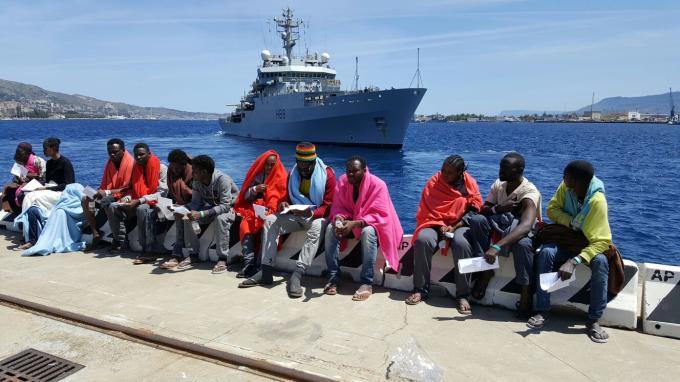 Giunti a Messina altri 417 migranti