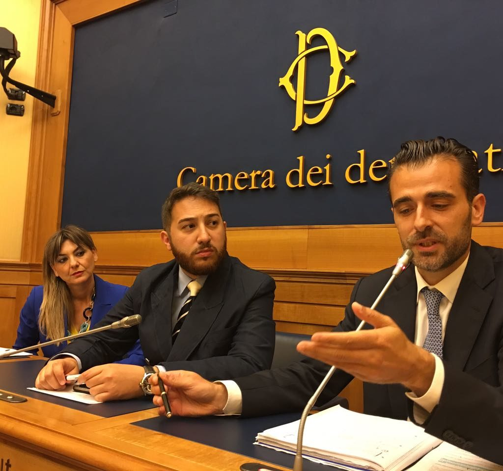 ANTONIO CATALFAMO PRESENTA L'ASSOCIAZIONE PRIMA IL TERRITORIO ALLA CAMERA DEI DEPUTATI