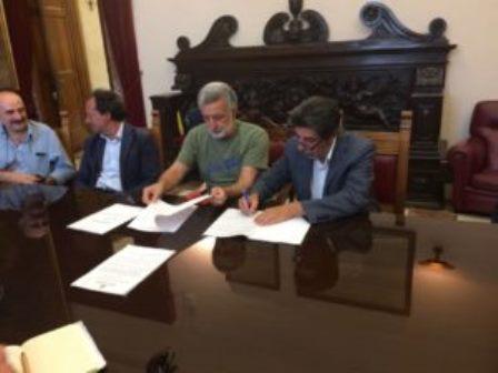 """""""Prusst Messina per il 2000″, firmato a palazzo Zanca l'accordo di programma"""
