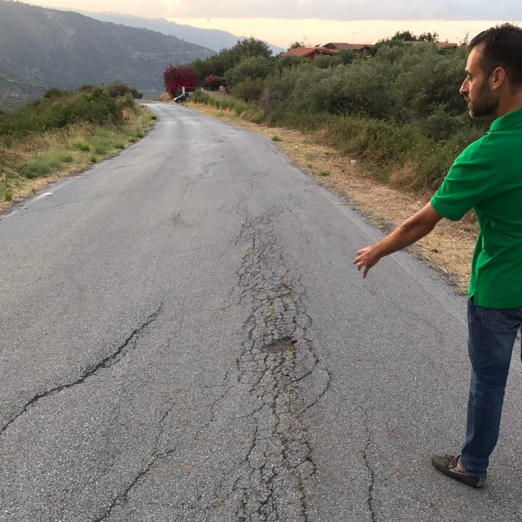 """Catalfamo, Prima il Territorio: """"Strade provinciali al collasso, danni alle economie turistiche di Tripi, Basicò e Montalbano"""""""