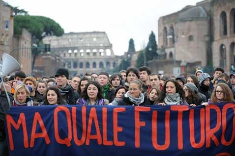 Giovani e Disoccupati, una lettera in redazione
