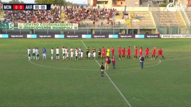 Serie C, il Siracusa 'sgambetta' la capolista: primo punto per l'Akragas
