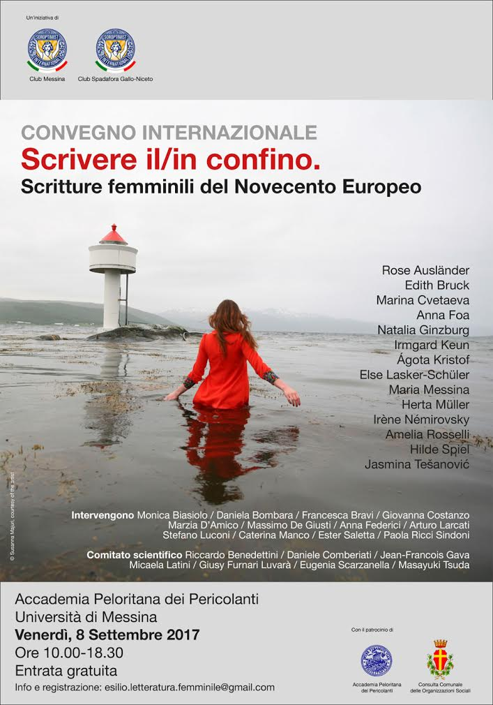"""""""Scrivere il/in confino – Scritture femminili del Novecento Europeo"""", un convegno a Messina"""