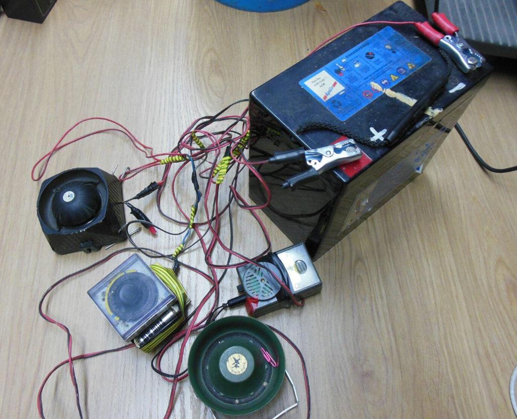 Polizia metropolitana sequestra attrezzatura utilizzata per l'attività venatoria di frodo