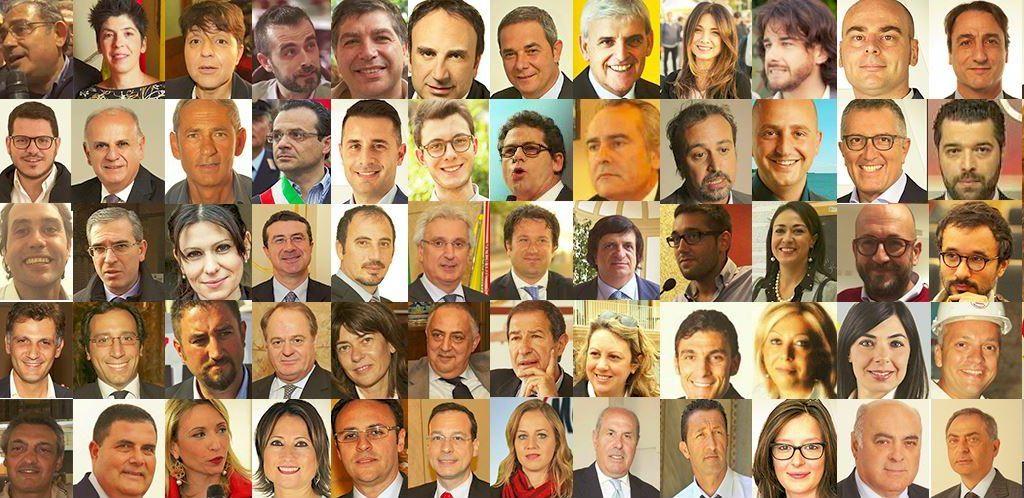 Ecco i 70 neo parlamentari siciliani