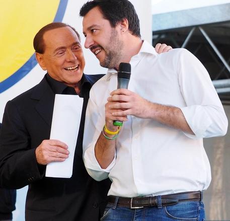 Stasera cena Berlusconi-Salvini-Meloni