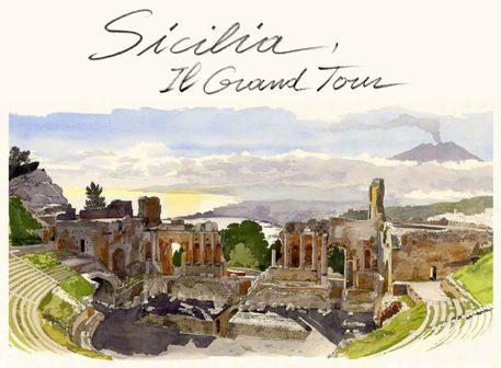 Mostre: 'Sicilia il Grand Tour' acquerelli Moireau a Palermo