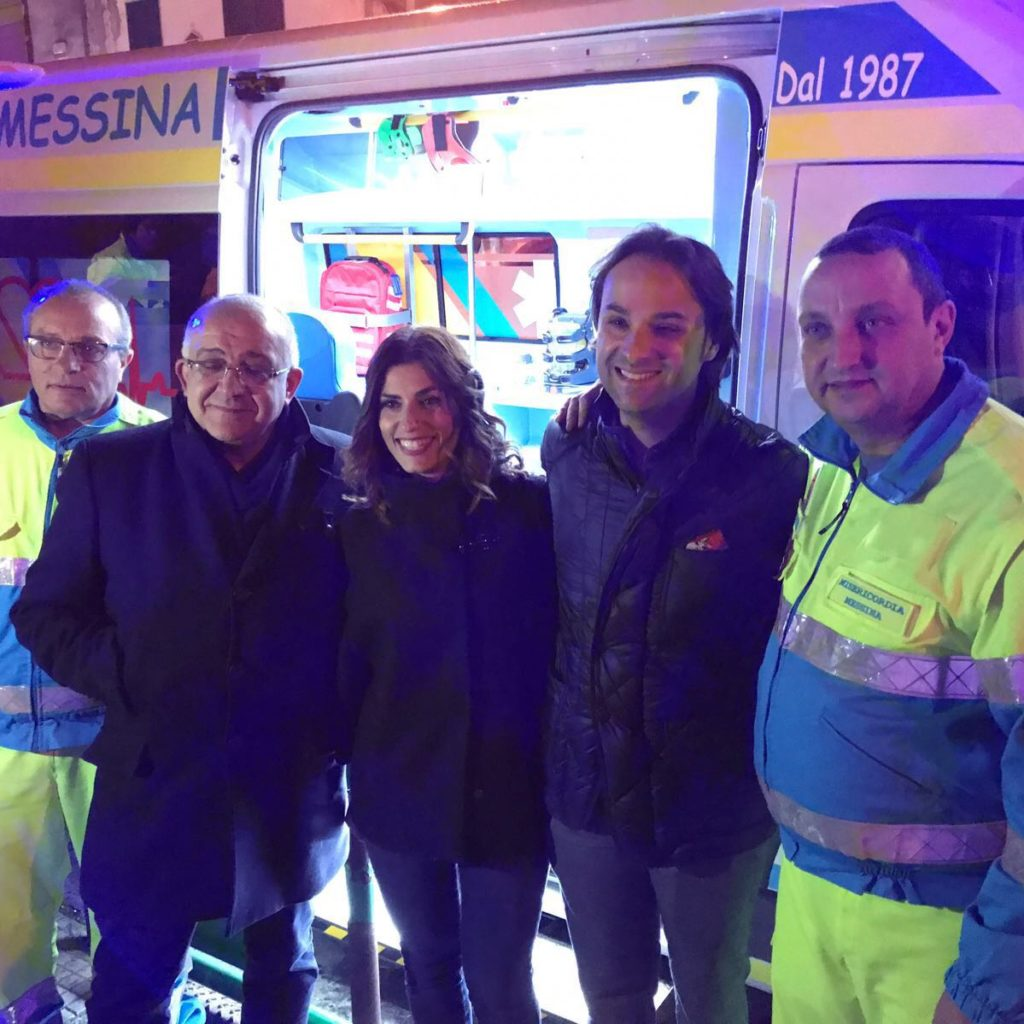 La Confraternita Misericordia di Messina acquista un'ambulanza di ultima generazione grazie al supporto di Commerciale GiCap S.p.a.