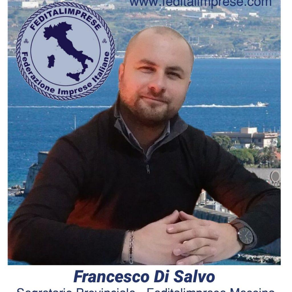 Francesco Di Salvo è il nuovo segretario provinciale di Feditalimprese Messina