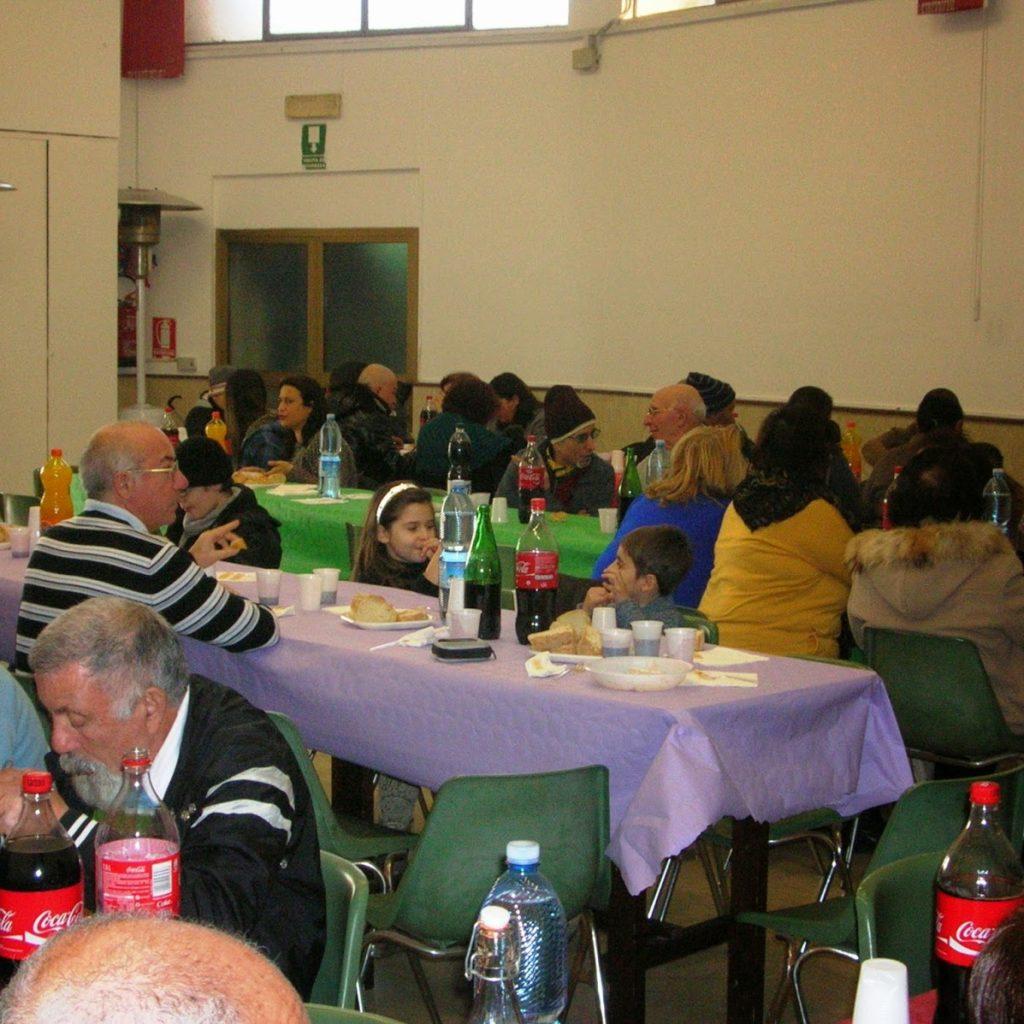 Sabato 6 gennaio pranzo della solidarietà all'oratorio del Sacro Cuore di Milazzo