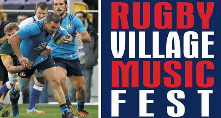 Oggi al Tono c'è il Rugby Village Music Fest con i giocatori della nazionale