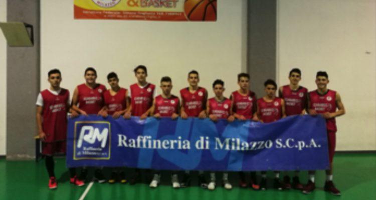 Basket, l'Under 18 dello Scarabeo conquista il terzo posto in classifica