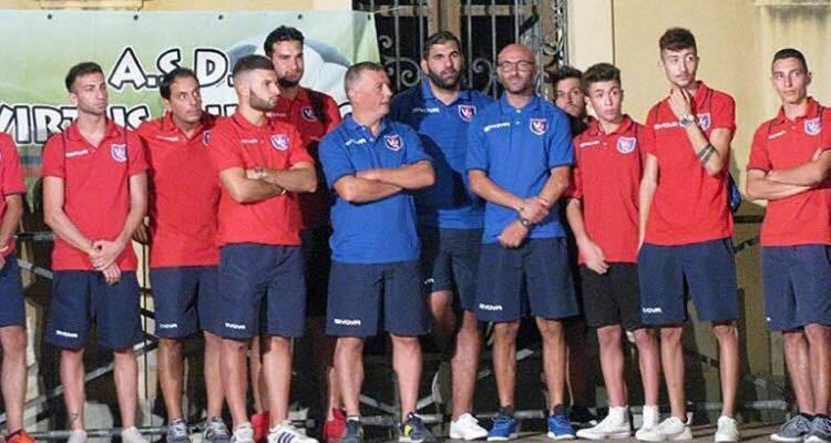 Virtus Milazzo, presentata la nuova squadra del mister Nico Caragliano