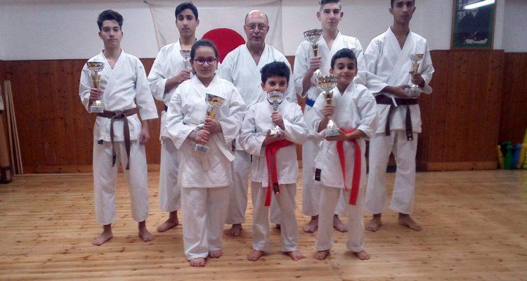 Quadrangolare natalizio di Karate a Gioiosa Marea, successo dei piccoli atleti milazzesi