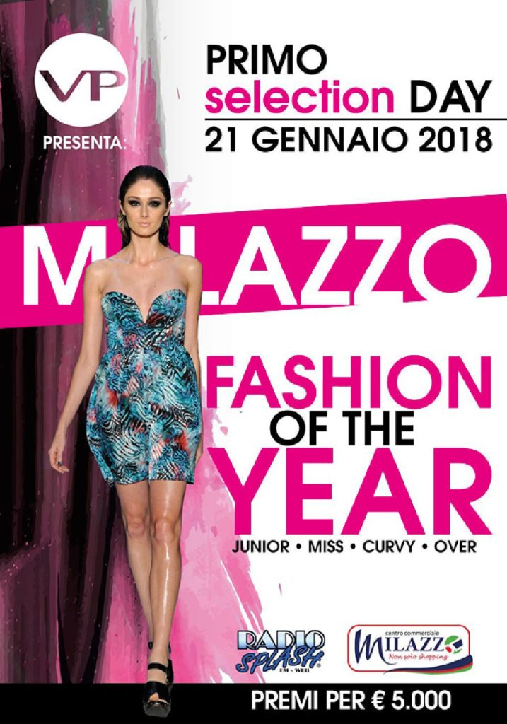 "TUTTO E' PRONTO PER LA PRIMA EDIZIONE DI   ""MILAZZO FASHION OF THE YEAR"""