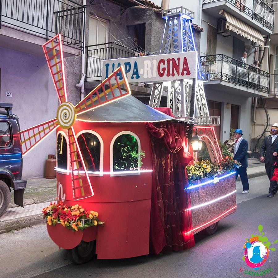 10, 11 e 13 febbraio a S. Lucia del Mela l'unico Carnevale siciliano in Moto Ape