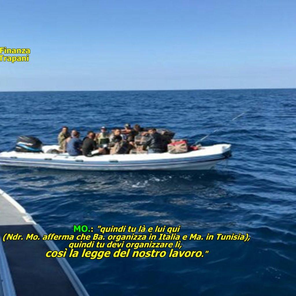 """GUARDIA DI FINANZA: OPERAZIONE """"SCORPION FISH 2"""". SMANTELLATA ORGANIZZAZIONE CRIMINALE ITALO-TUNISINA DEDITA AL FAVOREGGIAMENTO DELL'IMMIGRAZIONE CLANDESTINA"""
