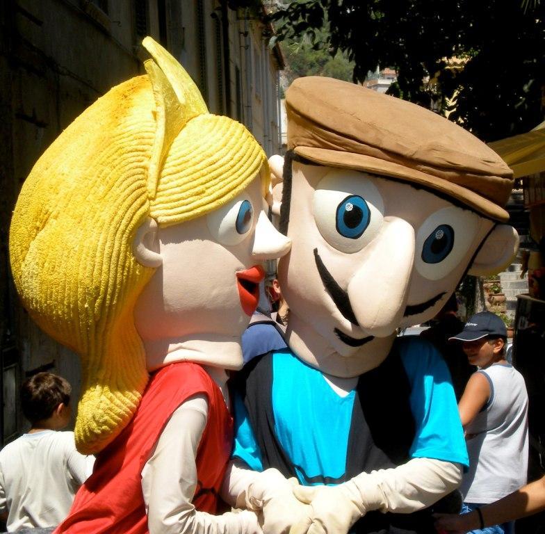 """Taor e Mina"" le Mascotte 4.0 Made in Sicily"