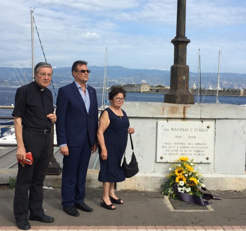 """L'affondamento della Corazzata """"Roma"""" 75° anniversario, la cerimonia di Messina"""