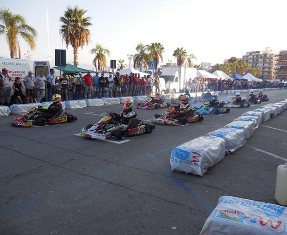 Milazzo/ La sesta edizione del Gran Premio Città di Milazzo –Memorial Massimo Mazzù- di karting