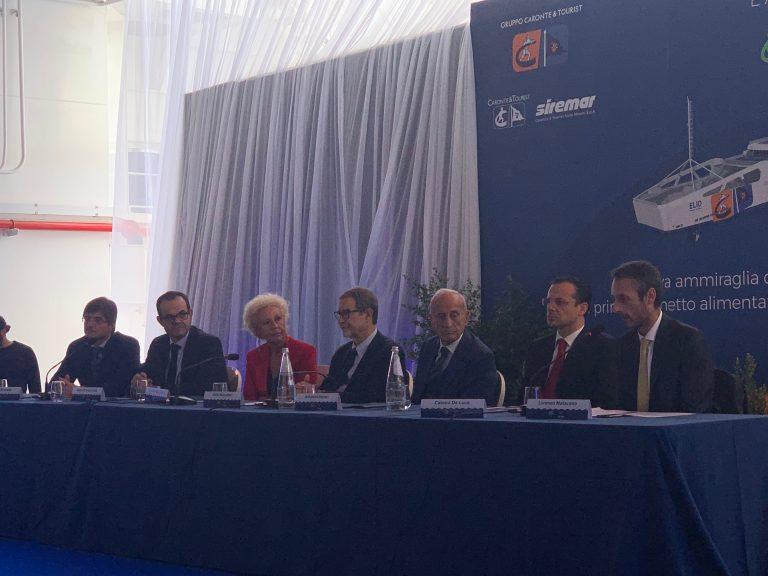 Caronte & Tourist inaugura il primo traghetto green del Mediterraneo
