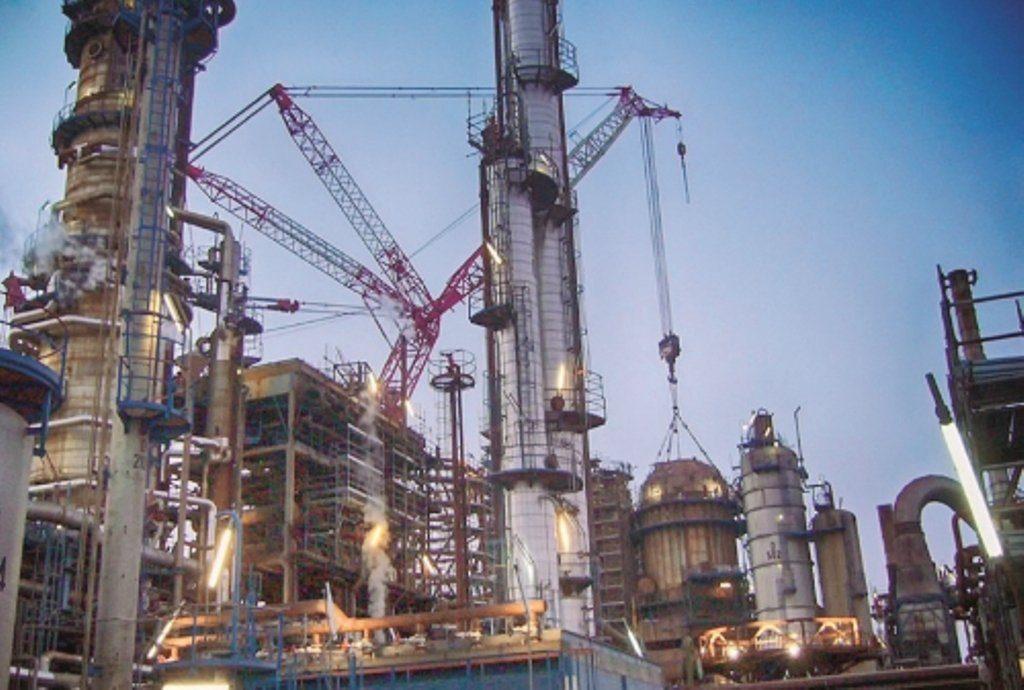 Raffineria Augusta: firma Esso-Sonatrach