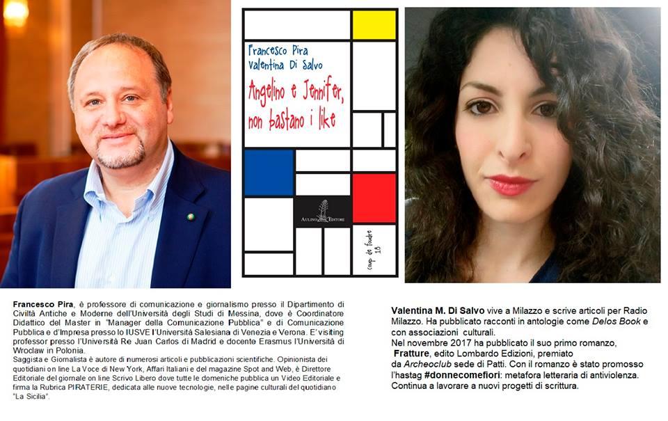 Gli amori e l'incomunicabilità sui social in un racconto di  Francesco Pira e Valentina Di Salvo