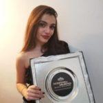 La Giovane Giordano vince il premio National Voice Award di Sanremo