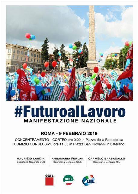 #Futuroallavoro, oltre duecento lavoratori della Cisl Messina alla manifestazione nazionale di sabato prossimo a Roma sulle priorità della crescita e del lavoro
