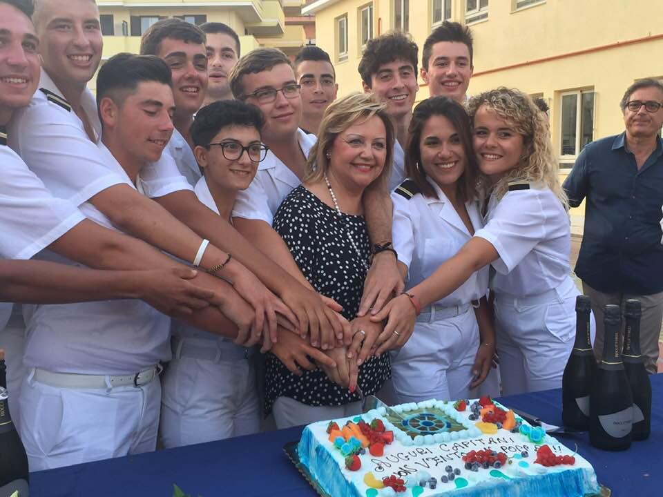 Milazzo/ Consegnati i diplomi ai primi 14 allievi ufficiali di coperta