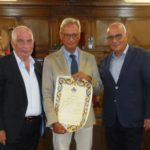 Milazzo/cittadinanza onoraria al Professore Maurizio Giuseppe Vento